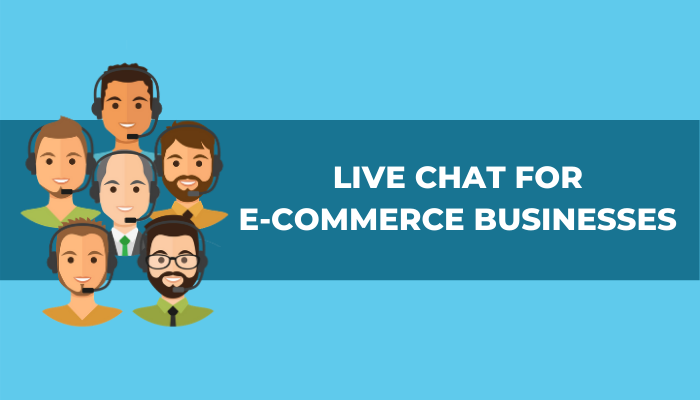 LIVE CHAT - ECOMMERCE - BUSINESS